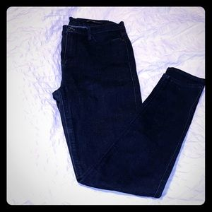 Black Orchid High waisted super skinny jeans